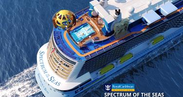 Čína, Japonsko z Baoshan na lodi Spectrum of the Seas