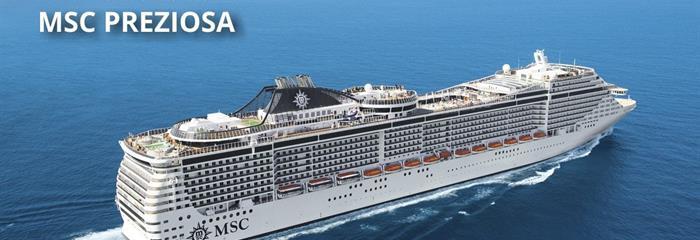Španělsko, Francie, Itálie z Barcelony na lodi MSC Preziosa