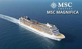 Velká Británie, Německo ze Southamptonu na lodi MSC Magnifica