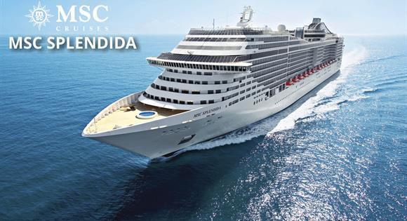 Itálie, Španělsko z Janova na lodi MSC Splendida