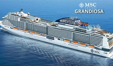Itálie, Malta z Palerma na lodi MSC Grandiosa