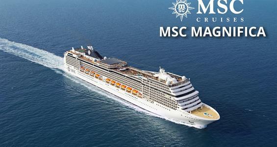 Itálie, Řecko z Civitavecchia na lodi MSC Magnifica