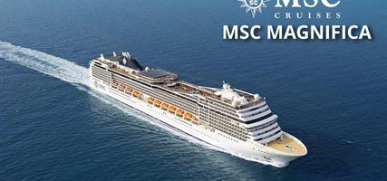 Itálie, Řecko z Janova na lodi MSC Magnifica