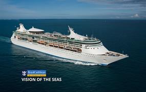 USA, Britské Panenské ostrovy, Antigua a Barbuda, Svatá Lucie, Barbados, Svatý Martin ze San Juanu na lodi Vision of the Seas