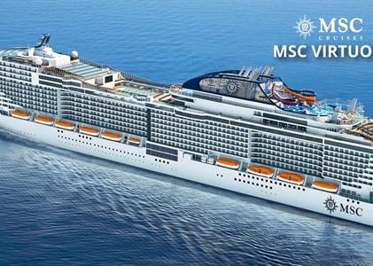 Portugalsko, Španělsko, Francie, Itálie z Lisabonu na lodi MSC Virtuosa