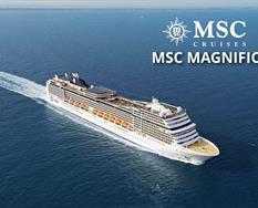 Itálie, Řecko, Malta z Livorna na lodi MSC Magnifica ****