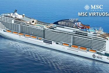 Španělsko, Francie, Itálie z Barcelony na lodi MSC Virtuosa