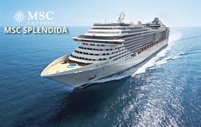 Německo, Dánsko, Polsko, Švédsko, Finsko, Rusko, Estonsko, Norsko z Kielu na lodi MSC Splendida