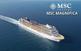 Velká Británie, Norsko ze Southamptonu na lodi MSC Magnifica