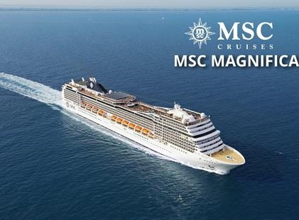 Itálie, Řecko z Messiny na lodi MSC Magnifica