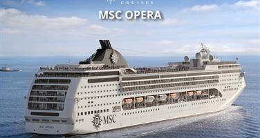 Spojené arabské emiráty z Dubaje na lodi MSC Opera