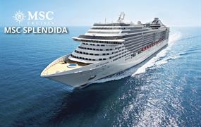 Španělsko, Maroko, Portugalsko, Itálie z Barcelony na lodi MSC Splendida