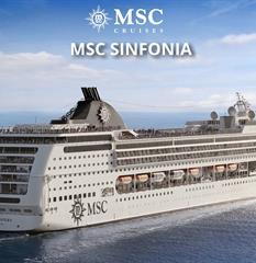 Argentina, Uruguay, Brazílie z Buenos Aires na lodi MSC Sinfonia