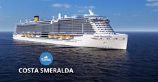 Itálie z Cagliari na lodi Costa Smeralda