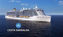 Itálie, Francie, Španělsko z Civitavecchia na lodi Costa Smeralda