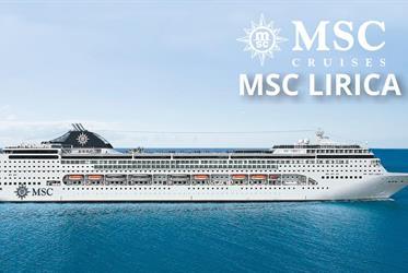 Jihoafrická republika z Kapského Města na lodi MSC Lirica