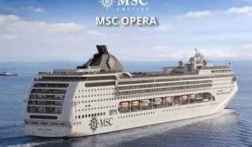 Itálie, Chorvatsko, Řecko, Černá Hora na lodi MSC Opera