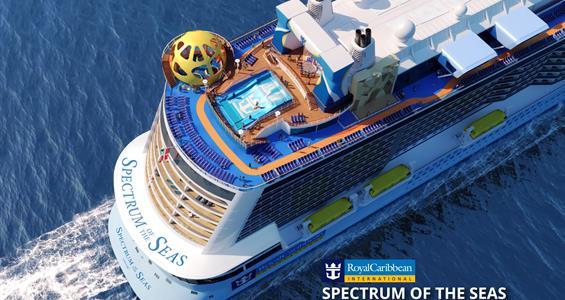 Čína, Vietnam z Šen-čenu na lodi Spectrum of the Seas