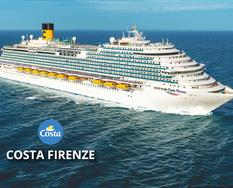 Španělsko, Francie, Itálie z Barcelony na lodi Costa Firenze ****