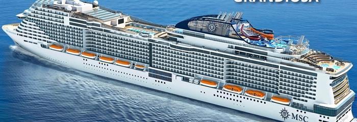 Itálie, Španělsko z Janova na lodi MSC Grandiosa