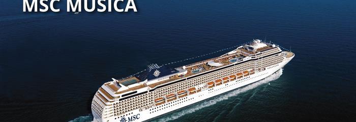 Francie, Španělsko, Itálie z Marseille na lodi MSC Musica
