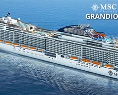 Španělsko, Itálie z Barcelony na lodi MSC Grandiosa ****