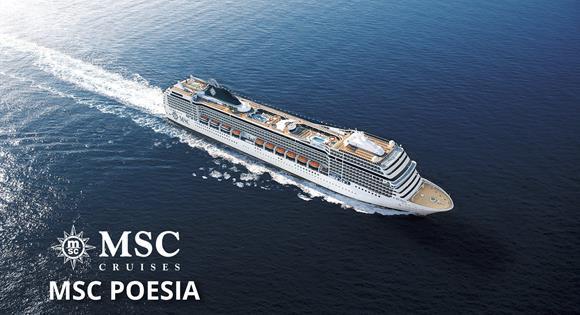 Itálie, Turecko z Janova na lodi MSC Poesia
