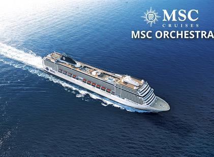 Itálie, Španělsko z Janova na lodi MSC Orchestra