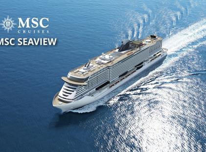 Itálie, Francie z Janova na lodi MSC Seaview