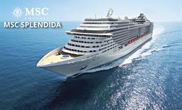 Španělsko, Itálie z Málagy na lodi MSC Splendida