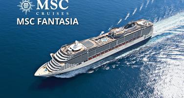 Španělsko, Tunisko, Itálie, Francie z Barcelony na lodi MSC Fantasia