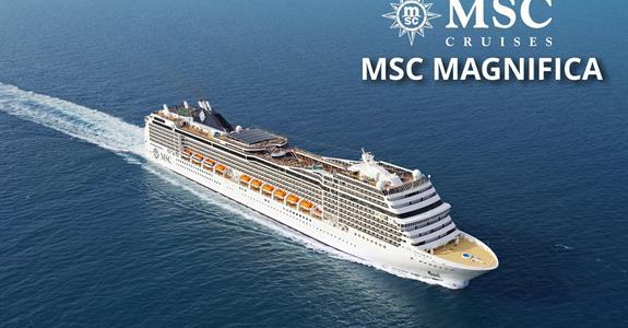 Velká Británie, Francie ze Southamptonu na lodi MSC Magnifica