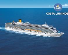 Itálie, Řecko na lodi Costa Luminosa ****