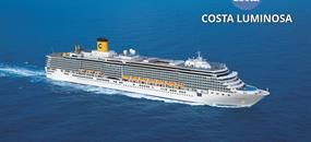 Itálie, Řecko na lodi Costa Luminosa
