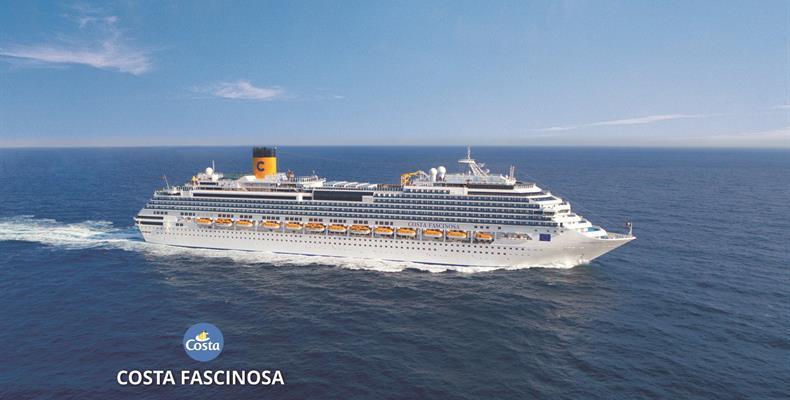 Francie, Španělsko, Portugalsko, Belgie, Nizozemsko z Marseille na lodi Costa Fascinosa ****