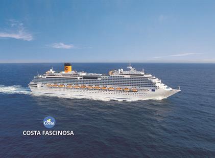 Dánsko, Velká Británie, Francie, Španělsko, Portugalsko z Kodaně na lodi Costa Fascinosa