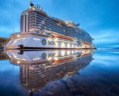 Itálie, Francie z Civitavecchia na lodi MSC Seaside ****