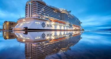 Itálie, Francie z Civitavecchia na lodi MSC Seaside