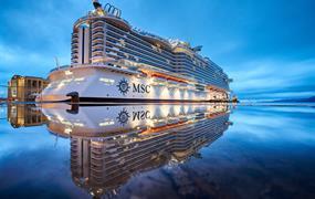 Itálie, Francie na lodi MSC Seaside