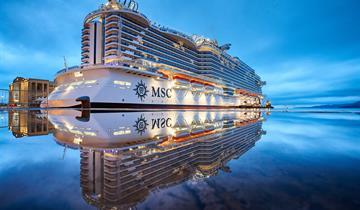 Itálie, Francie z Janova na lodi MSC Seaside