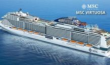 Velká Británie, Španělsko, Portugalsko, Francie, Itálie ze Southamptonu na lodi MSC Virtuosa