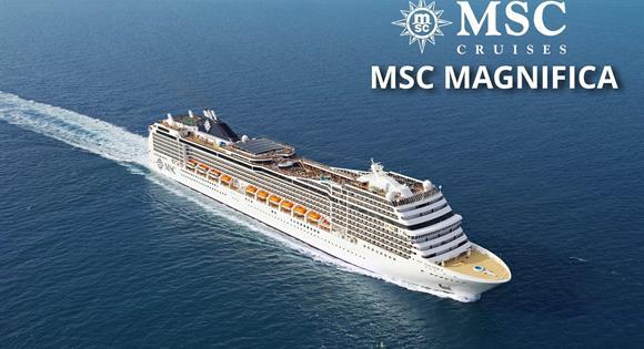 Itálie, Chorvatsko z Benátek na lodi MSC Magnifica