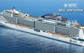 Velká Británie, Španělsko, Portugalsko, Francie z Greenocku na lodi MSC Virtuosa