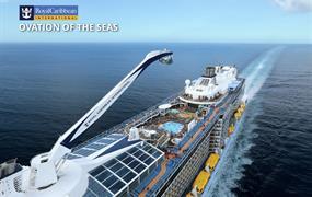 USA ze Seattlu na lodi Ovation of the seas