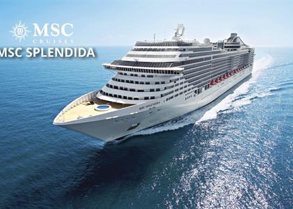 Itálie, Chorvatsko na lodi MSC Splendida