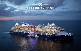 USA, Bahamy, Svatý Martin z Ford Lauderdale na lodi Celebrity Edge