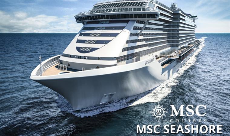 Francie, Itálie z Marseille na lodi MSC Seashore
