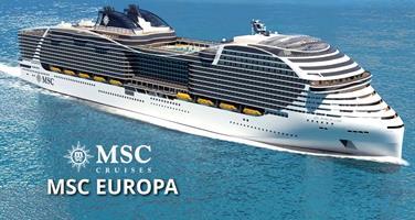 Spojené arabské emiráty z Abu Dhabi na lodi MSC WORLD EUROPA