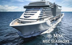 Perly středomoří na zbrusu nové lodi MSC Seashore