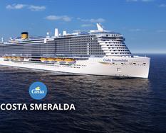 Itálie, Francie, Španělsko z Civitavecchia na lodi Costa Smeralda ****